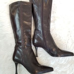 Via Spiga Pointed Toe Booties, Size 8M